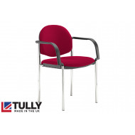 Tully Deluxe Conference Chair (Fixed Arms)