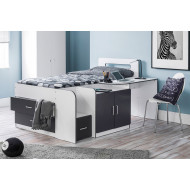 Steve Cabin Bed With Study Desk