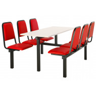 Conran 6 Seater Fast Food Unit (Double Entry)