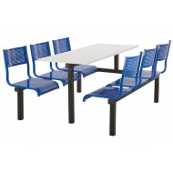 Mosca 6 Seater Fast Food Unit (Single Entry)