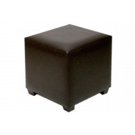 Chamba Faux Leather Cube