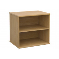 All Oak Desk End Bookcase