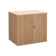 All Beech Desk End Cupboard