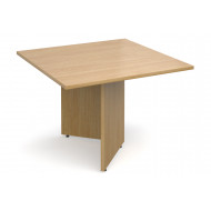 All Oak Square Extension Table