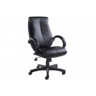 Lavezzi High Back Leather Faced Executive Chair