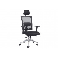 Eclipse Executive Task Chair With Arms And Headrest