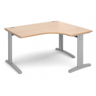 Trinity Deluxe Right Hand Ergonomic Desk