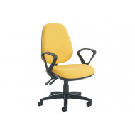 Gilmour High Back Operator Chair With Fixed Arms