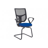 Gordy Mesh Back Visitor Armchair