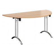 Blaga Semi Circular Folding Table