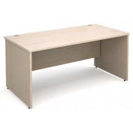 Value Line Deluxe Panel End Rectangular Desk