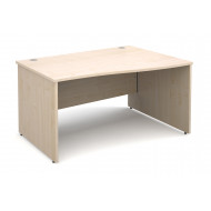 Next-Day Value Line Deluxe Panel End Right Hand Wave Desk