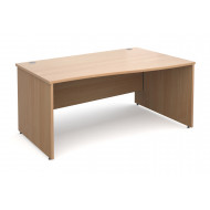 Value Line Deluxe Panel End Right Hand Wave Desk