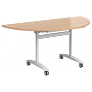 Holbrook Semi Circular Flip Top Table