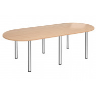 Esteban Radial Boardroom Table
