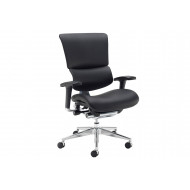 Merideth Ergonomic 24HR Leather Operator Chair