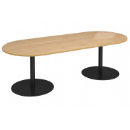 Constant Radial End Boardroom Table