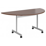 Foxham Semi Circular Flip Top Meeting Tables