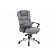 Next-Day Jasmine High Back Faux Leather Executive Chair