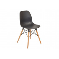 Lilly 4 Leg Bistro Chair (Wooden Frame)