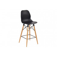 Lilly 4 Leg Bistro Stool (Wooden Frame)