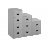 Bisley Economy Filing Cabinet (Central Handle)