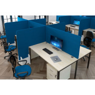 Protective Fabric Desktop Screens