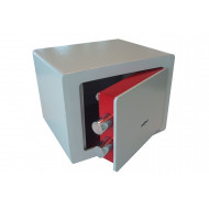 De Raat Protector Compact Security Safe With Key Lock (4ltrs)
