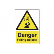 Danger Falling Objects Safety Sign