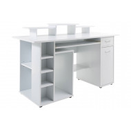 Woodford Computer Desk (White)