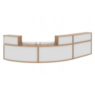 Curve Reception Bundle 4 (Beech/White)