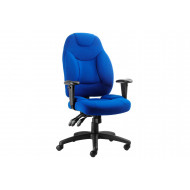 Ankara Fabric Executive Operator Chair