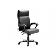 Malvar Leather Faced Executive Folding Chair