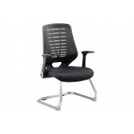 Baton Mesh Back Visitor Chair With Airmesh Seat