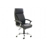 Penza High Back Executive Black Leather Chair