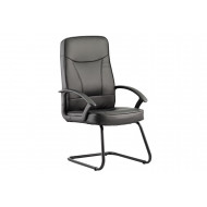 Next-Day Reno Leather Visitor Chair