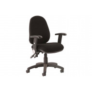 Solar 2 Lever Operator Chair With Folding Arms