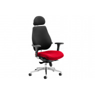 Praktikos Ultimate Fabric Operator Chair Black Back