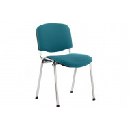 ISO Chrome Frame Conference Chair (Maringa Teal)