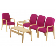 Turnberry Wooden Modular Reception Seating