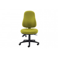 Selle Large Ergonomic Operator Chair With Lumbar Pump