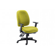 Selle Extra Large Ergonomic Operator Chair With Lumbar Pump
