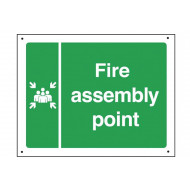 Fire Assembly Point Vandal Resistant Sign