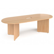 Arrowhead Power Ready Radial End Boardroom Table