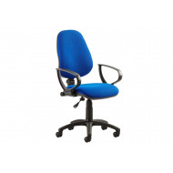 Next-Day Lunar 1 Lever Operator Chair With Fixed Arms