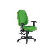 Bradford Extra High Back Operator Chair With Inflatable Lumbar