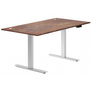 Next-Day Respond Sit & Stand Desk (Rusted Steel)