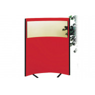 Korey Acoustic Vision Curved Free Standing Screens