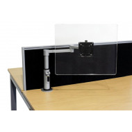 Manual Post Height Adjustable Monitor Arm