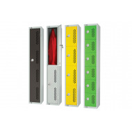Elite perforated door lockers